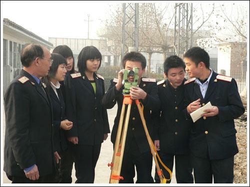 石家庄铁路技校铁道工程测量实训 铁道工程测量(2011年) 中专中技