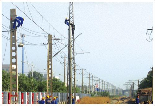 石家庄铁路技校电气化铁道供电 电气化铁道供电(2011年) 中专中技
