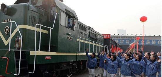石家庄车辆厂搬迁现场 南车石家庄车辆有限公司搬迁完成 石家庄铁路
