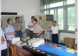 石家庄市劳动和社会保障局主管局长到石家庄铁路职业学校视察