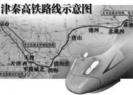 津秦高铁线路示意图