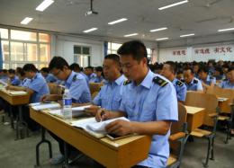 石家庄铁路技校全体教职工大会