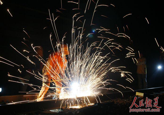 石家庄铁路技校焊接 工务段焊补打磨和女工 资料 第1张