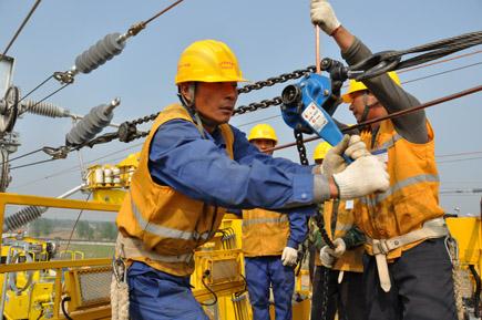 石家庄铁路技校电气化铁路工具介绍 接触网常用工具手扳葫芦介绍 资料