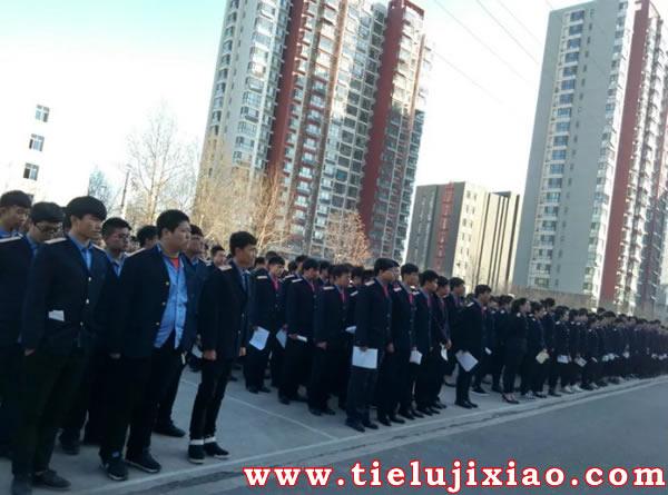 石家庄铁路技校2017年就业大会 学校图片 第3张
