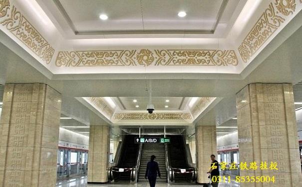 石家庄地铁博物馆站 石家庄地铁6月底开通 石家庄铁路 第1张