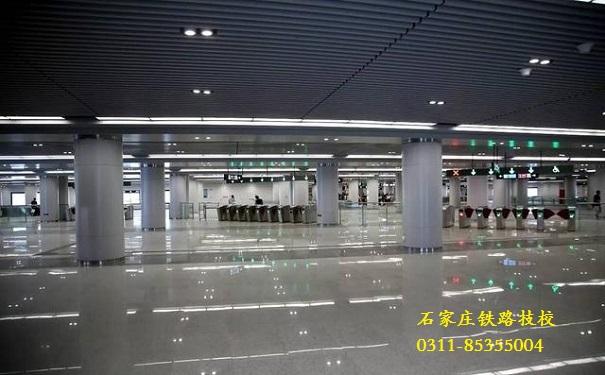 石家庄地铁北国商城站 石家庄地铁6月底开通 石家庄铁路 第2张