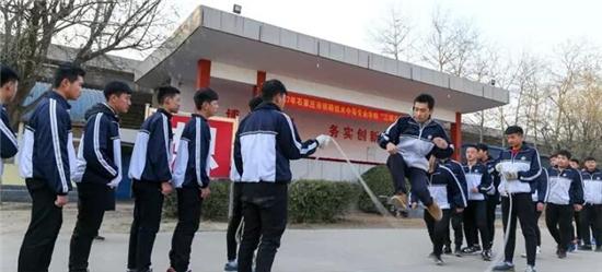 石家庄铁路学校花式跳绳 石家庄铁路学校十一月精彩回顾 铁路学校 第2张