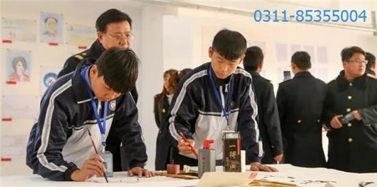 石家庄铁路学校书画比赛 石家庄铁路学校十一月精彩回顾 铁路学校 第6张