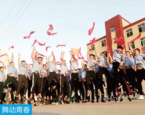 铁路学子真高兴 石家庄铁路学校学生风采 学校图片 第3张