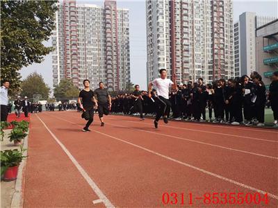 石家庄铁路技校一分校 石家庄铁路技校一分校运动会 学校图片 第3张