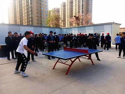石家庄铁路学校校园乒乓球比赛 石家庄铁路学校校园乒乓球比赛 学校图片 第2张